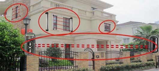 Barriere perimetrali per proteggere l 39 esterno di una casa - Antifurti per casa ...